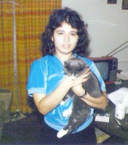 November 1980, age almost 25