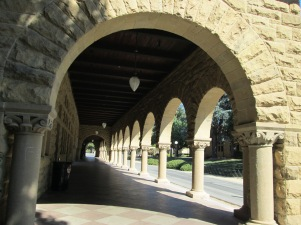 Inner Quad arches, Stanford University