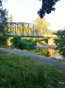 Park Place Bridge, Gladstone, OR