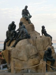 A monument to the life on Cannery Row which was portrayed in John Steinbeck's novel by the same name.