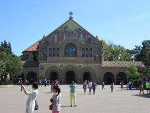 And a peek at the exterior of Memorial Church.
