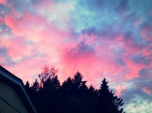 The sky tonight!