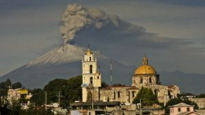 Popocatepetl's latest eruption was in October of 2015. Photo from foxnews